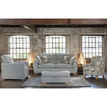 Alstons Upholstery - Cuba 4 Seater Sofa