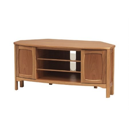 Nathan - Shades Teak Corner TV Unit