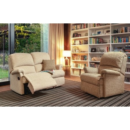 Sherborne - Nevada Small 2 Seater Recliner Fixed Chair